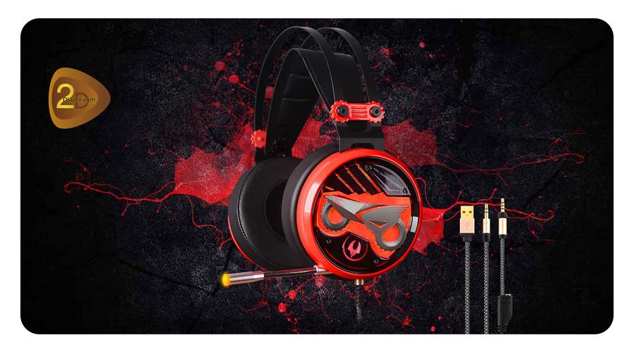 A4Tech Bloody M630 Gaming Headset Kopfhörer für Gamers