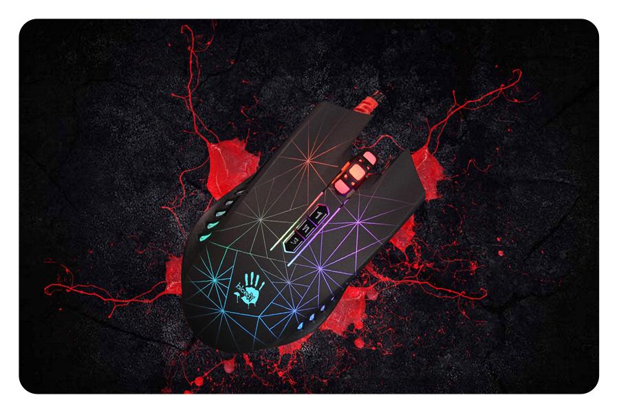 A4Tech Bloody P81 Optische Kabelgebunden Maus Gaming Mouse Maus für Gamers