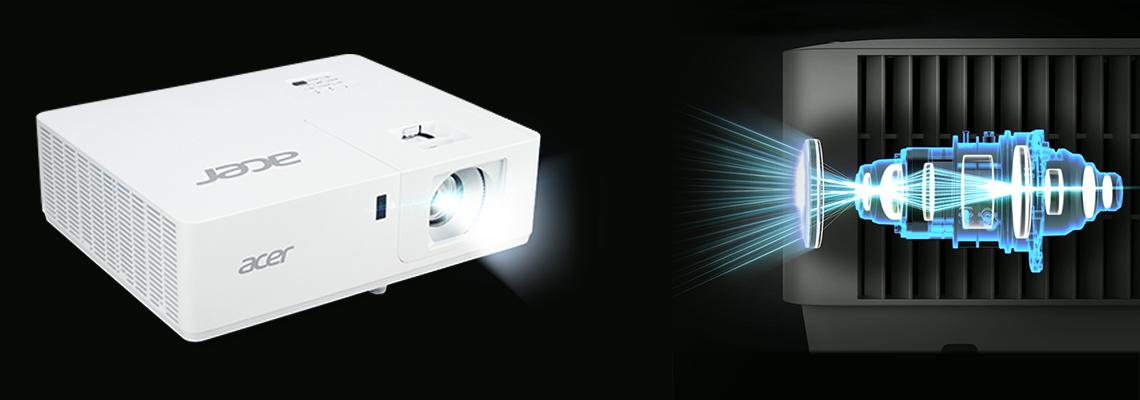 Laserlichtquelle im Projektor ACER PL6510 Full HD DLP