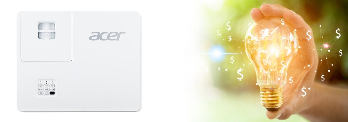 30.000 Stunden Lebensdauer des Projektors ACER PL6510 Full HD DLP Laser