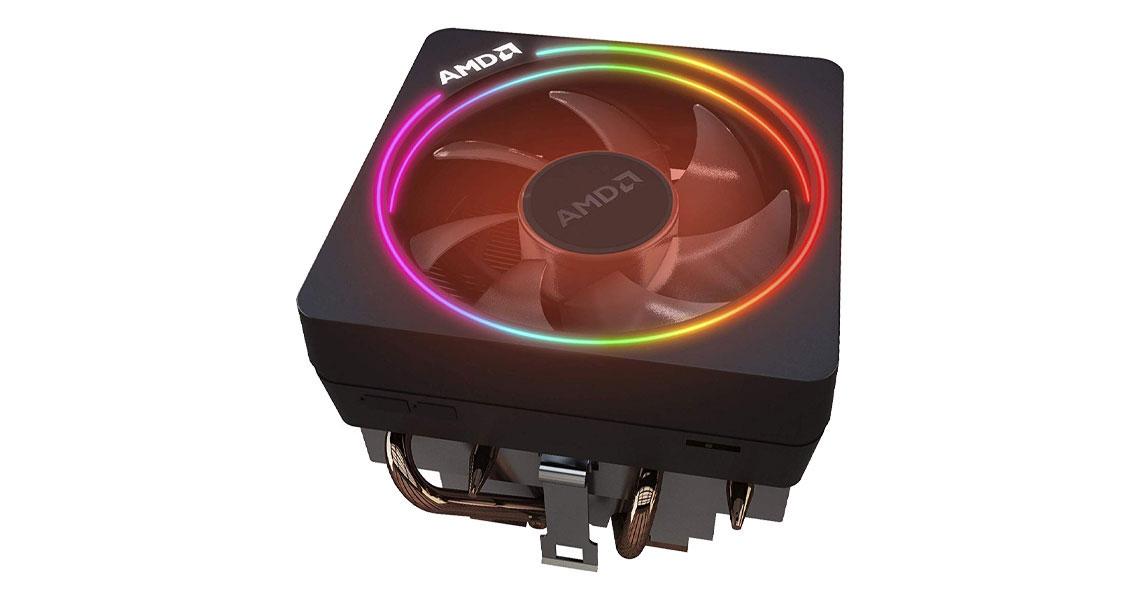 Der Prozessor mit Wraith Prism AMD Ryzen 7 3700X Box