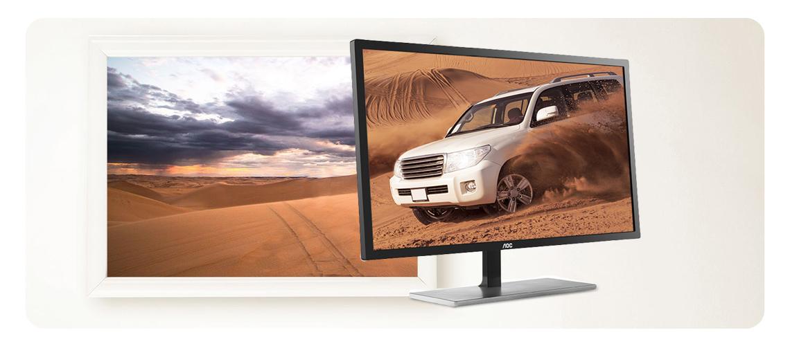 Schnelle Reaktionszeit mit dem 4K-Display