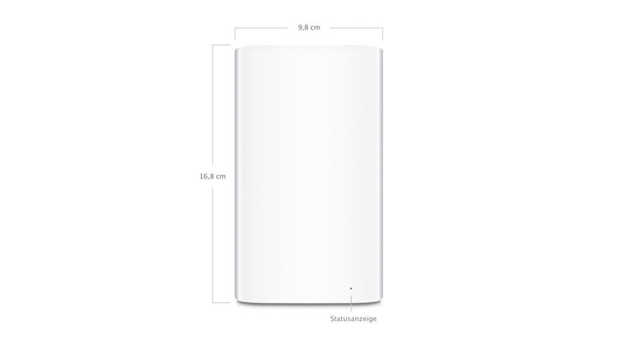 802.11ac WLAN NAS-Netwerkfestplatte