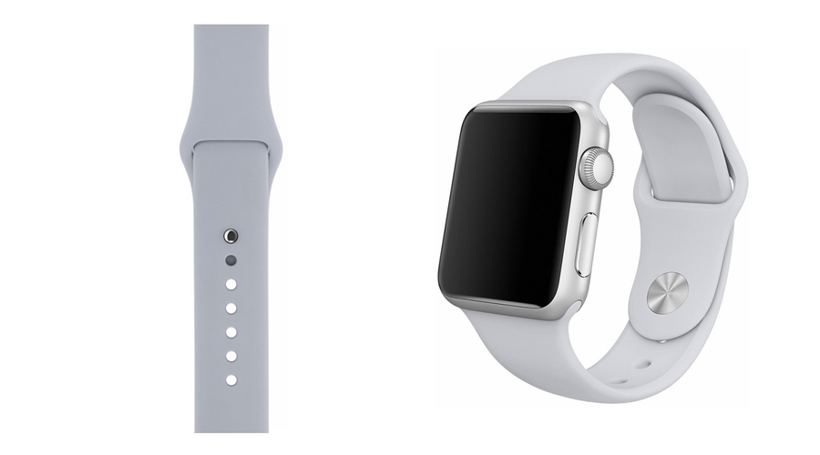 Nebel Silikon-Uhrband Apple Watch 38 mm