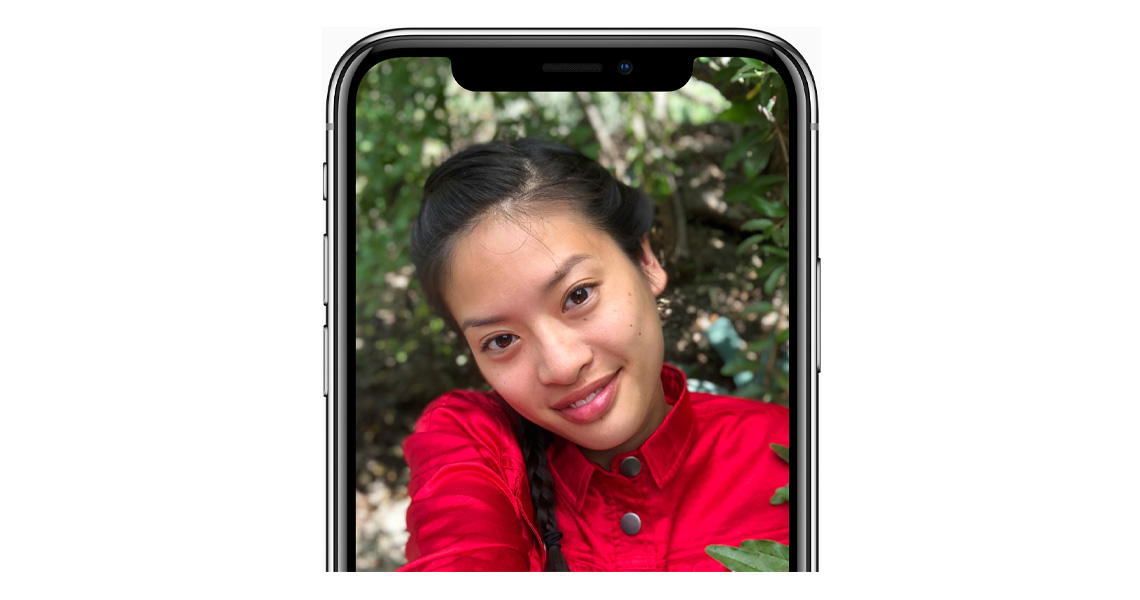 Porträtmodus Selfies Frontkamera