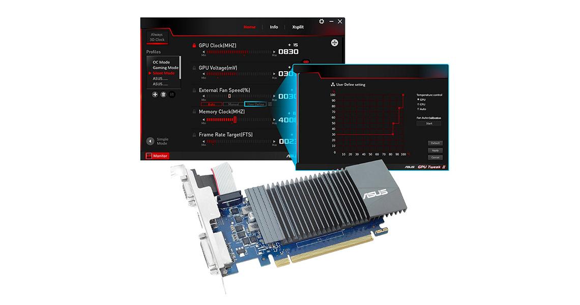 GPU Tweak II Gaming-Booster-Funktion