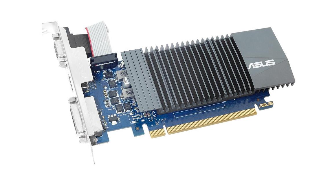 Die Grafikkarte mit der AUTO EXTREME Technologie ASUS GeForce 2GB GDDR5 GT710-SL-2GD5