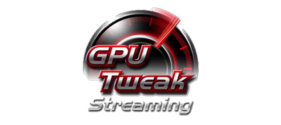 GPU Tweak mit Streaming Funktion in der Grafikkarte ASUS GeForce GT730-2GD5-BRK