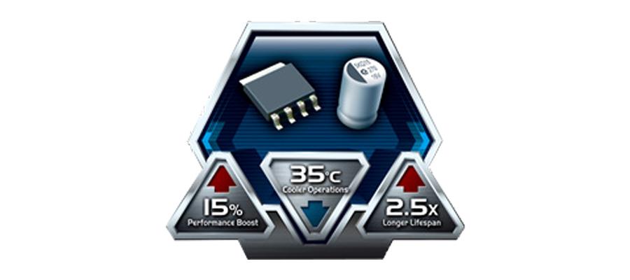 Die Grafikkarte mit der Super Alloy Power Technologie ASUS GeForce GT730-2GD5-BRK