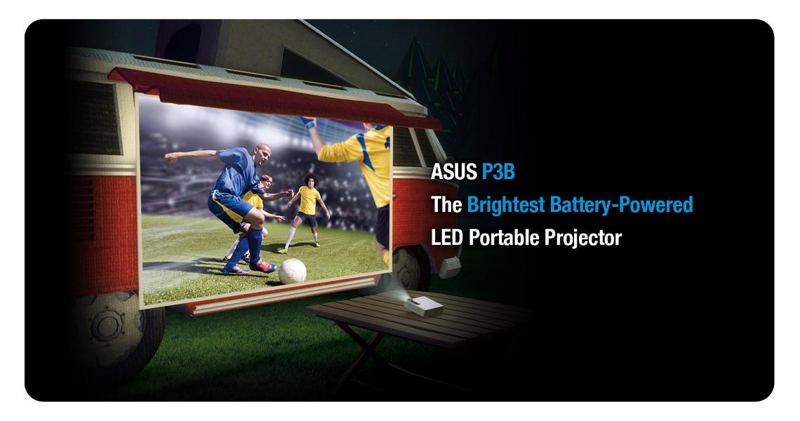 ASUS P3B tragbarer LED-Projektor