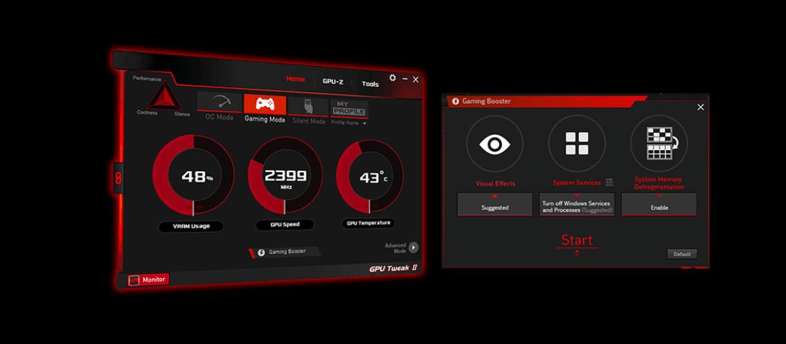 Grafikkarten Tuning ASUS ROG Strix Radeon RX 570 OC 8GB GDDR5