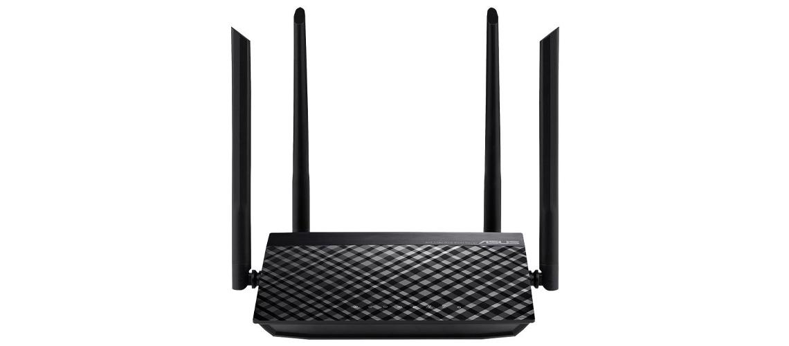Netzwerk Kontrolle und Optimierung mit dem drahtlosen Router ASUS RT AC1200 V2 WiFi 5 802.11 a/b/g/n/ac Externe 4