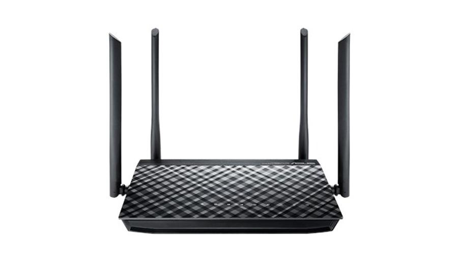 ASUS RT-AC1200G+ Dualband AC1200 Gigabit WLAN-Router