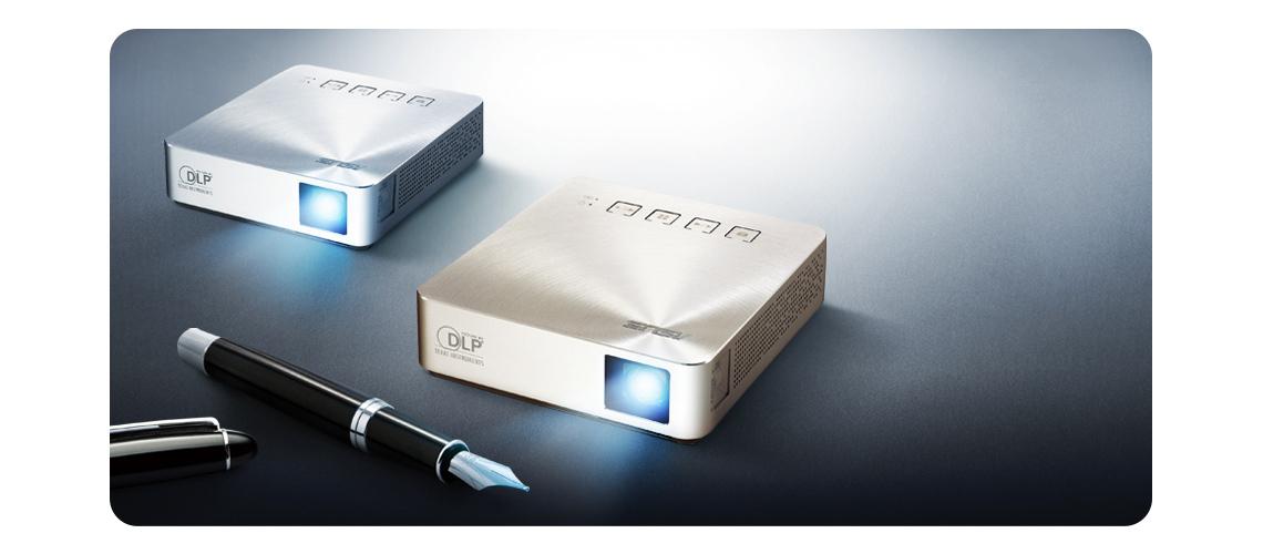 tragbarer LED-Projektor