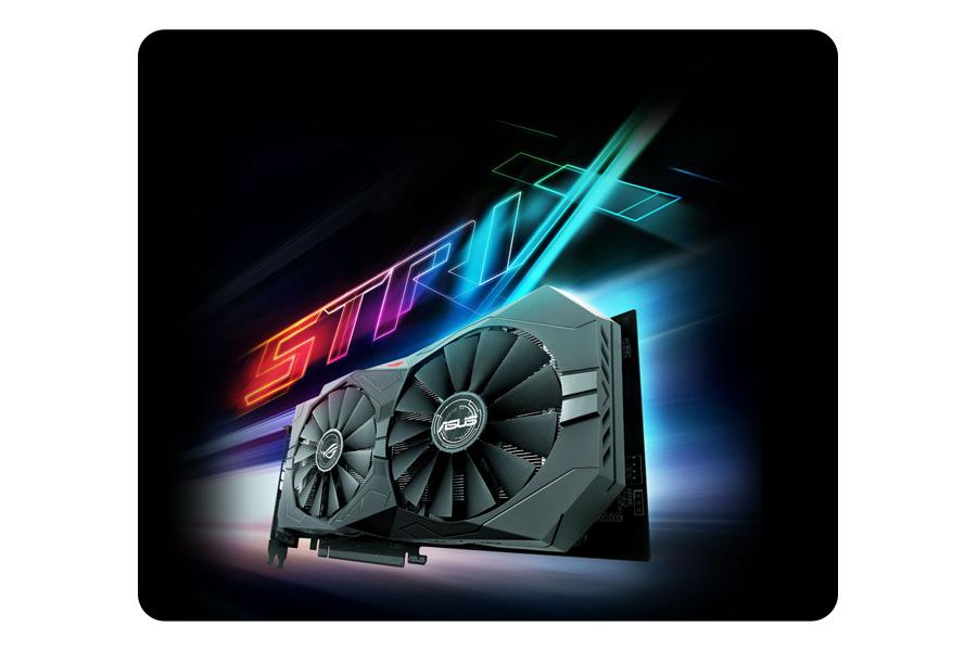 ROG Strix GeForce® GTX 1050 OC-Edition 2GB GDDR5