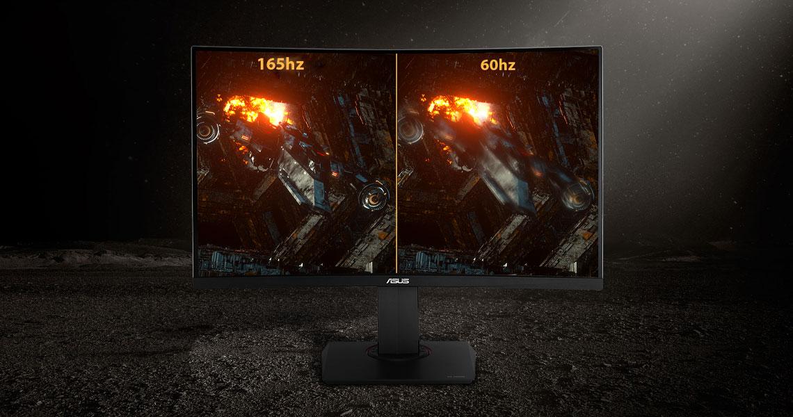 Der Monitor mit Übertaktungsfunktion von 165Hz ASUS TUF Gaming VG27BQ 68,6 cm 27 Zoll TFT