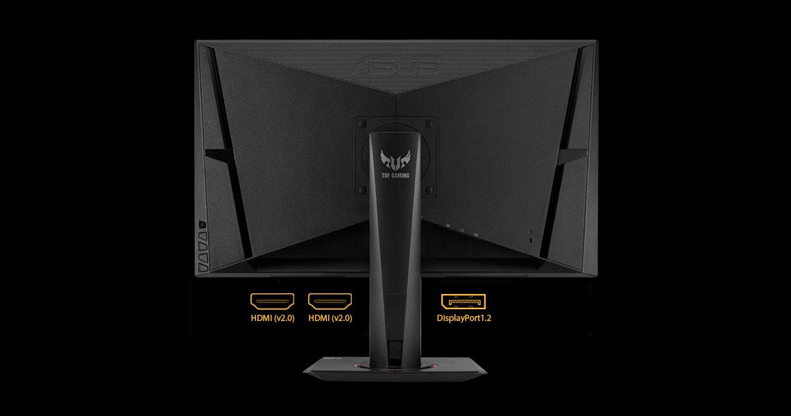 Ergonomische Konstruktion des Monitors ASUS TUF Gaming VG27BQ 68,6 cm 27 Zoll TFT