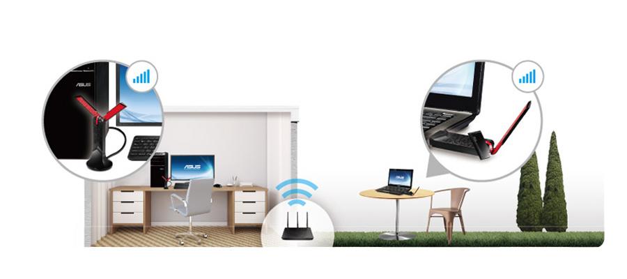 Wi-FI USB-Stick USB-WLAN-Adapter