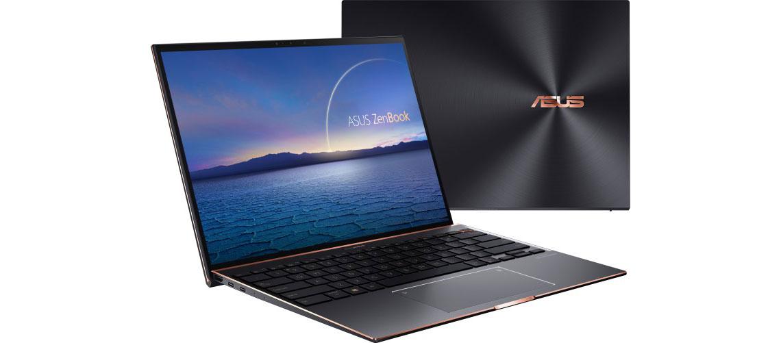 3,3K NanoEdge Touchscreen im Laptop ASUS ZenBook S UX393EA HK001R 13.9 Zoll 3K i7 1165G7 16GB 1TB SSD Win 10 Pro jade black