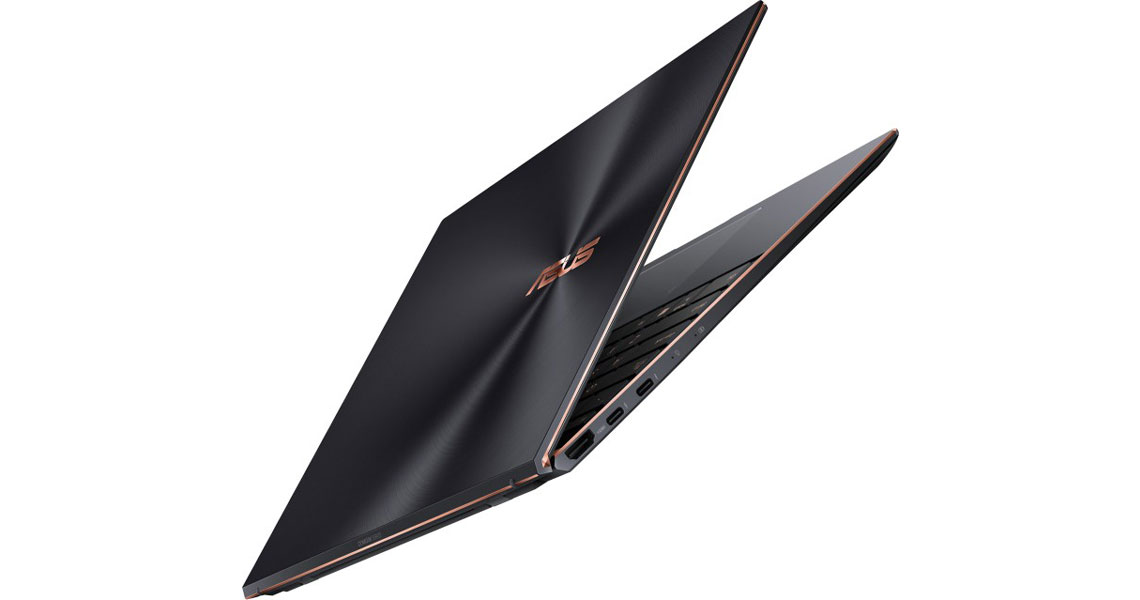Metall Chassis des Laptops aus Magnesium und Aluminiumlegierung ASUS ZenBook S UX393EA HK001R 13.9 Zoll 3K i7 1165G7 16GB 1TB SSD Win 10 Pro jade black