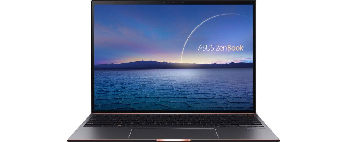 3:2 Format mit kompaktem NanoEdge Touchscreen im Notebook ASUS ZenBook S UX393EA HK001R 13.9 Zoll 3K i7 1165G7 16GB 1TB SSD Win 10 Pro jade black