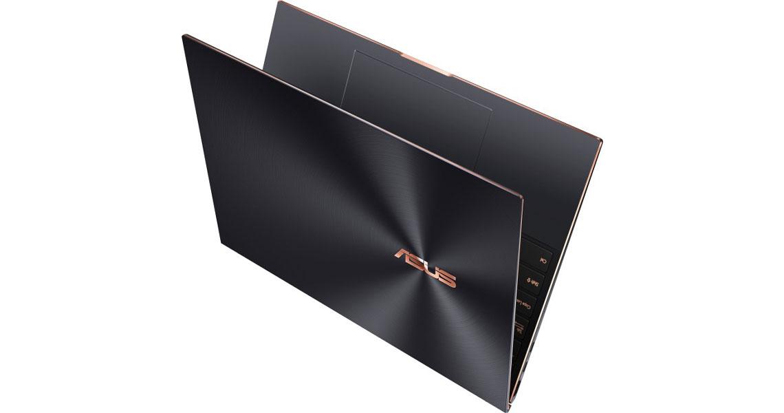 Das Laptop mit Intel Core Prozessor und Intel Iris Xe Grafik ASUS ZenBook S UX393EA HK001R 13.9 Zoll 3K i7 1165G7 16GB 1TB SSD Win 10 Pro jade black