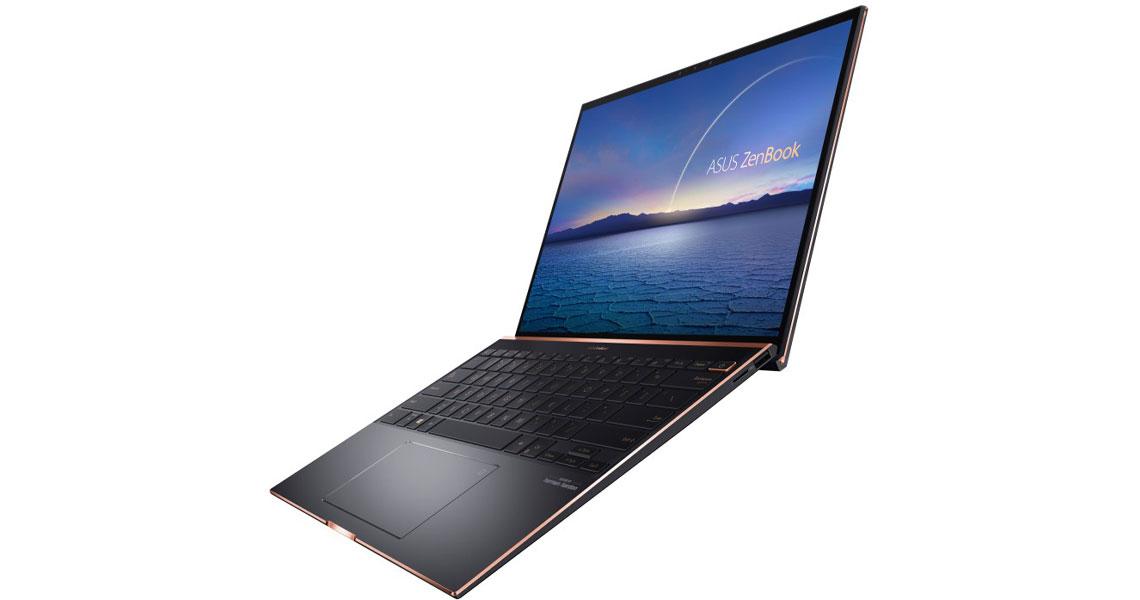 Ergonomische Tastatur mit Hintergrundbeleuchtung ASUS ZenBook S UX393EA HK001R 13.9 Zoll 3K i7 1165G7 16GB 1TB SSD Win 10 Pro jade black