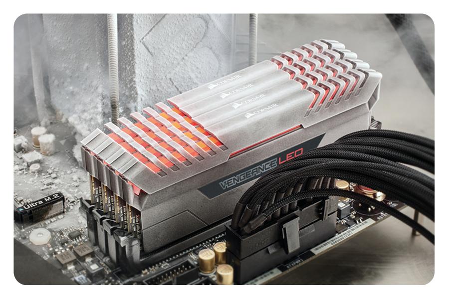 DDR4 Speicher RAM Memory Module LED Beleuchtung