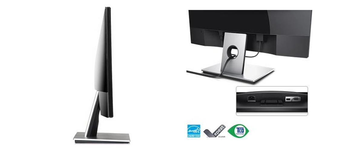 VGA- und HDMI-Ports PowerNap ENERGY STAR-qualifiziert EPEAT Silver CECP TCO