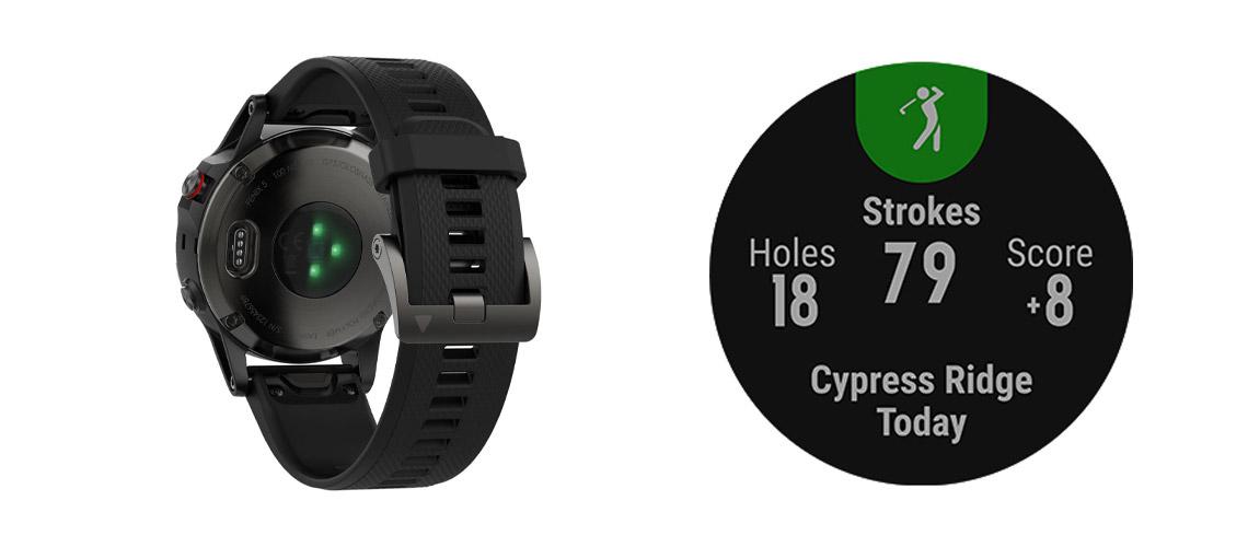 GPS-Multisport-Smartwatch für Training, Abenteuer und Alltag