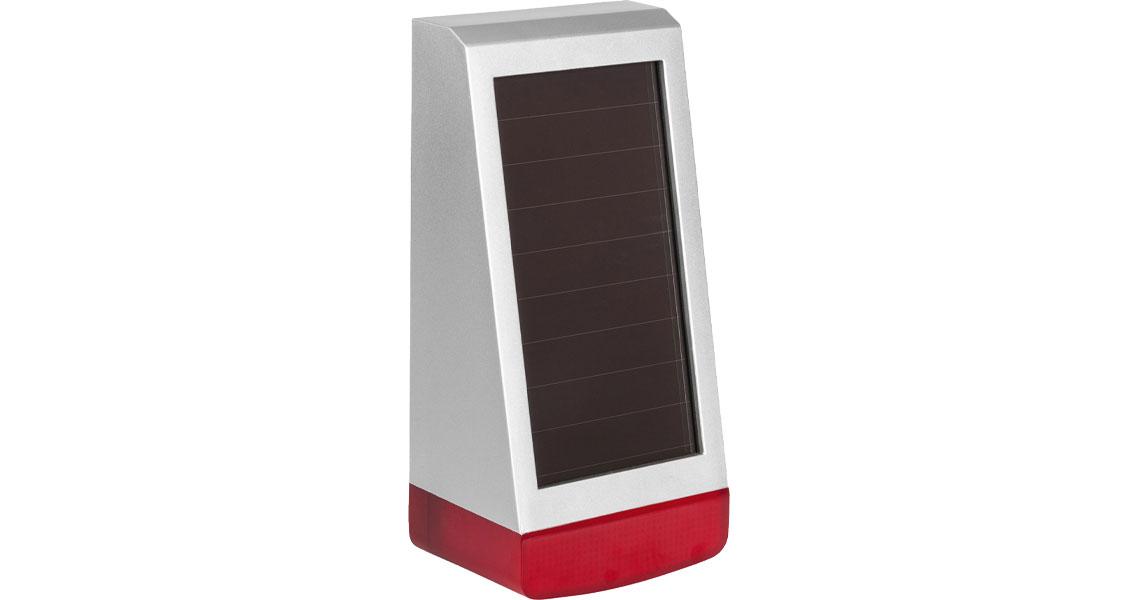 Die Alarmsirene für den Außenbereich mit zwei Piezo Lautsprechern und Signal LEDs Homematic IP außen 153208A0