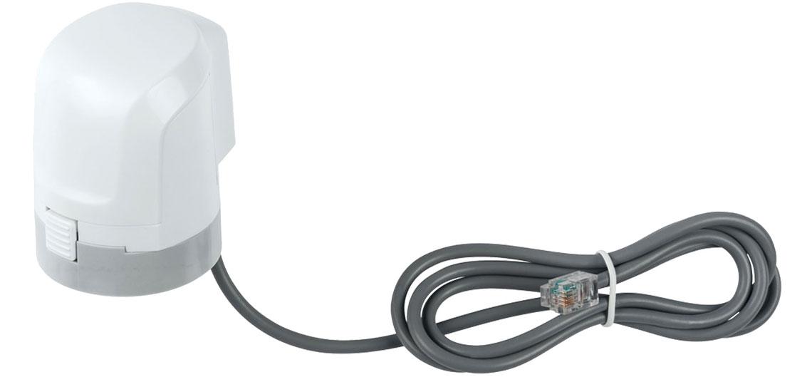 Die stufenlose motorische Steuerung von Fußbodenheizungsventilen mit dem Stellantrieb Homematic IP 153309A0