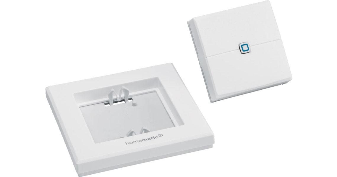 Steuerung von Geräten oder Systemfunktionen mit dem Wandtaster Homematic IP 140665A0