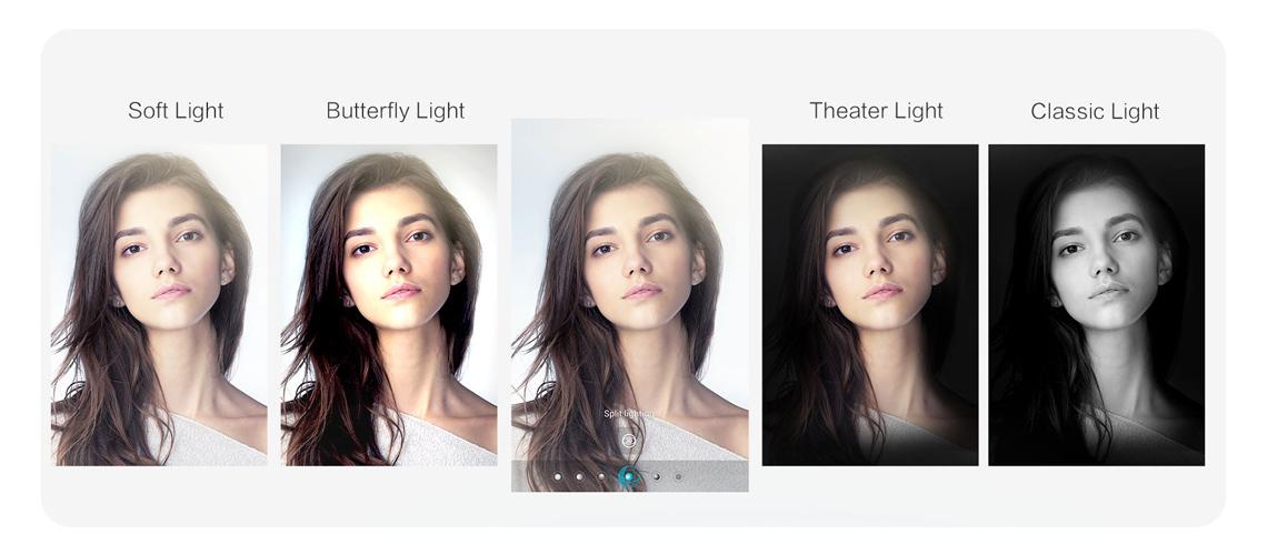3D Porträt Beleuchtung