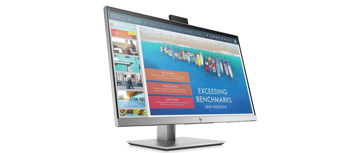 Anzeige Produktivität und Ergonomie mit dem Business Monitor HP EliteDisplay E243d 60,5 cm 23,8 Zoll TFT