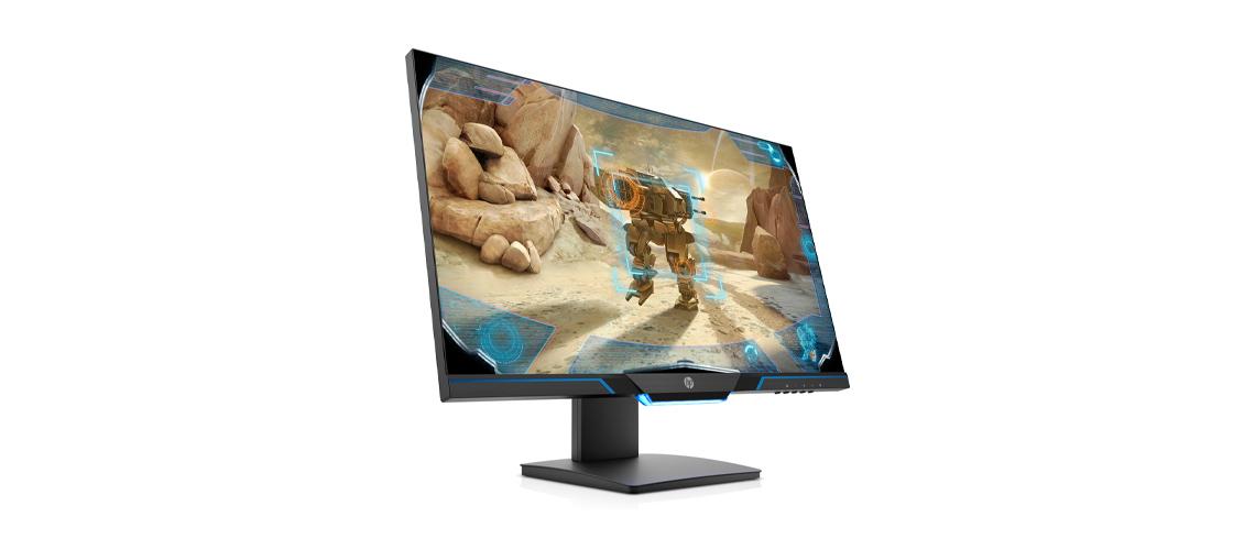 Der Bildschirm mit Reaktionszeit von 1 ms HP 27mx 68,6 cm 27 Zoll TFT