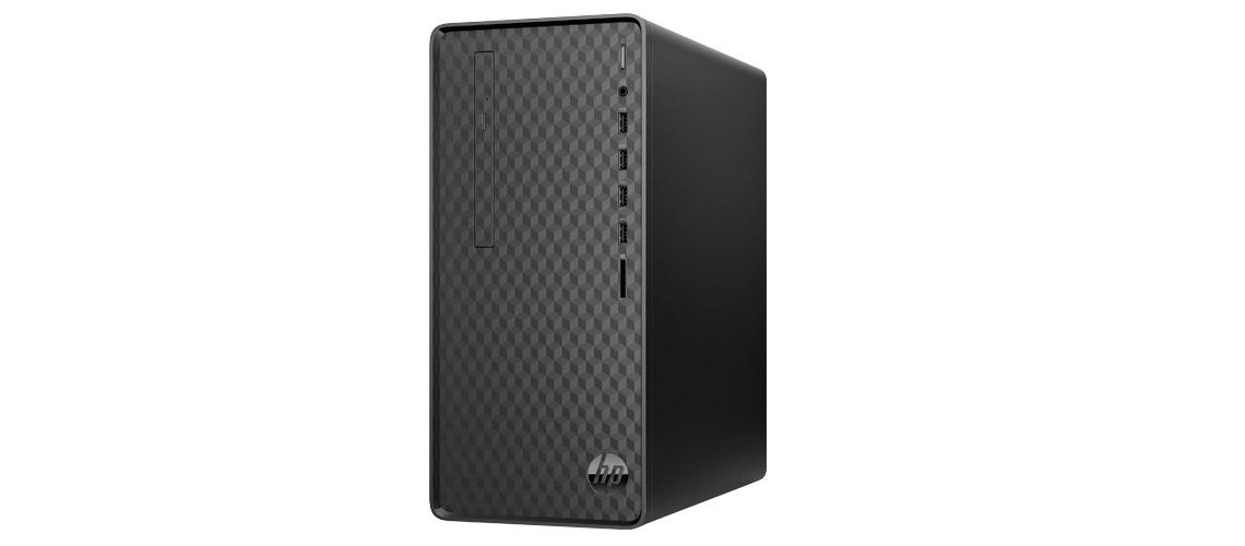 Der Desktop PC mit dem AMD Ryzen Prozessor HP Pavilion M01 F0015ng 512GB SSD 1TB HDD Radeon RX 550 Jet Black