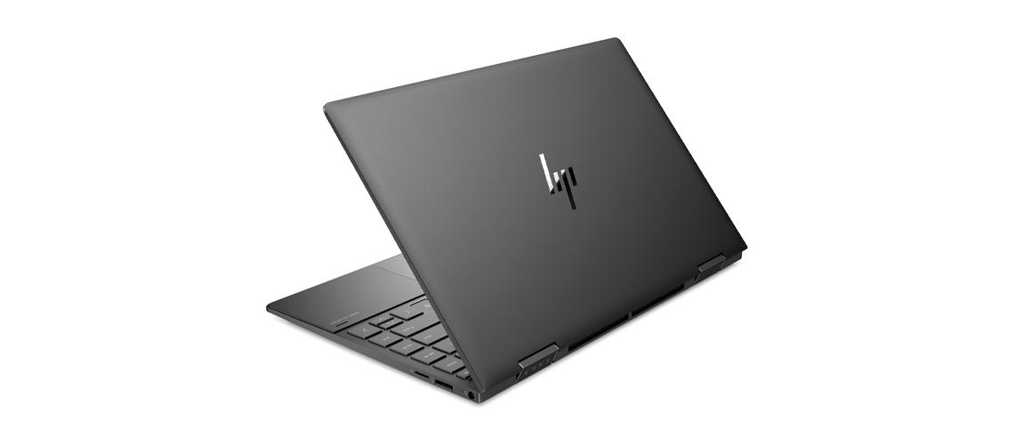 Gehäuse des Laptops aus Metall HP Envy x360 13,3 Zoll Full HD Touch Display Ryzen 5 4500U 8GB 1TB SSD Win 10 Home nightfall black