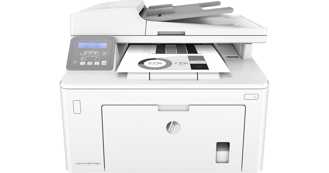 Drucken über Smartphones und Tablets HP LaserJet Pro MFP M148dw
