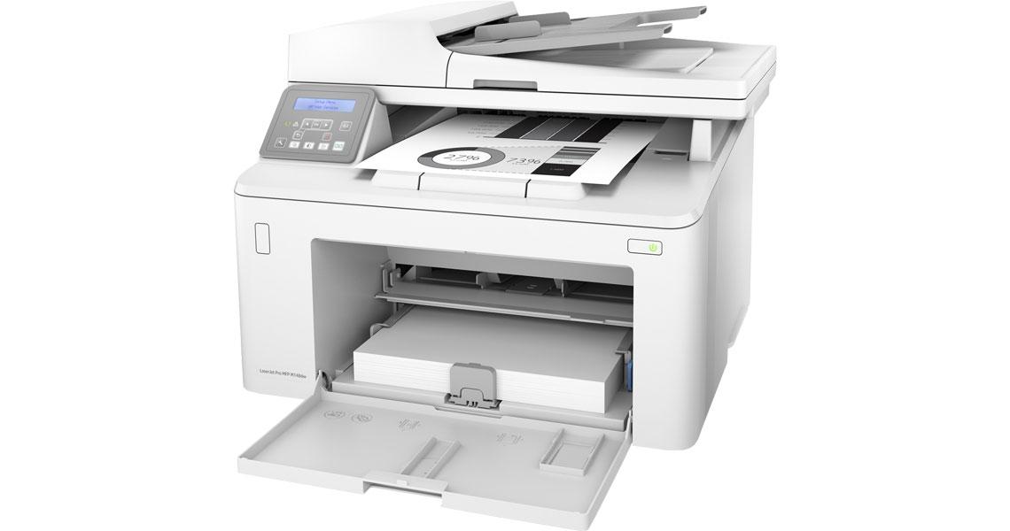 Beidseitiger Druck mit dem Drucker HP LaserJet Pro MFP M148fdw