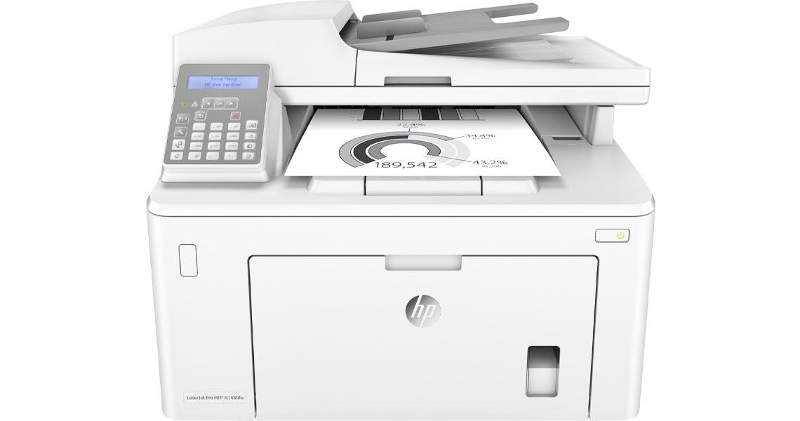 Drucken über Smartphones und Tablets HP LaserJet Pro MFP M148fdw