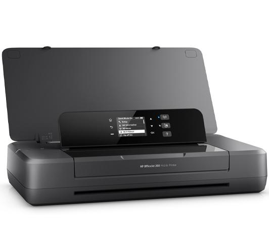 Der Drucker für Büro HP OfficeJet 200 Mobile Tintenstrahldrucker Farbdrucker A4 4800x1200 dpi