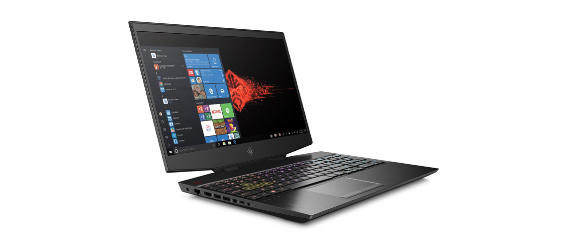 Aufösung des Micro Edge Displays im Notebook OMEN 17 cb1273ng 17,3 Zoll Full HD i7 10750H 1TB HDD 512GB SSD RTX 2070 Win 10 Home night black