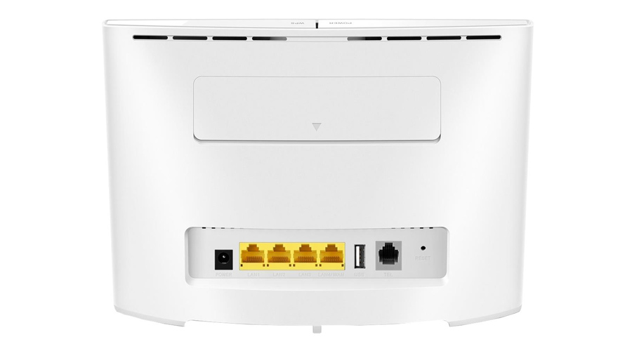 Drahtloser Router  WiFi 750Mbps 4xLAN LTE Cat.6 300Mbps/50Mbps