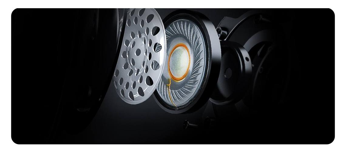 Richtungsselektive 50mm Treiber HYPERX Cloud Stinger Gaming Headset Schwarz