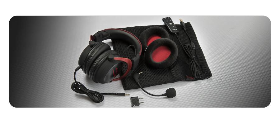 Mikrofon 7.1-Surround-Sound Lautstärkeregelung