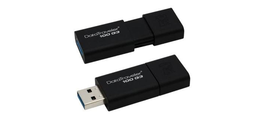 Umsteigen auf USB 3.0 mit dem Speicherstick KINGSTON DataTraveler DT100G3 128GB