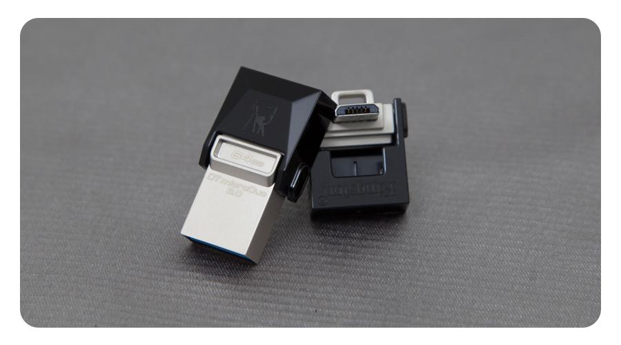 DataTraveler microDuo 3.0 16 GB