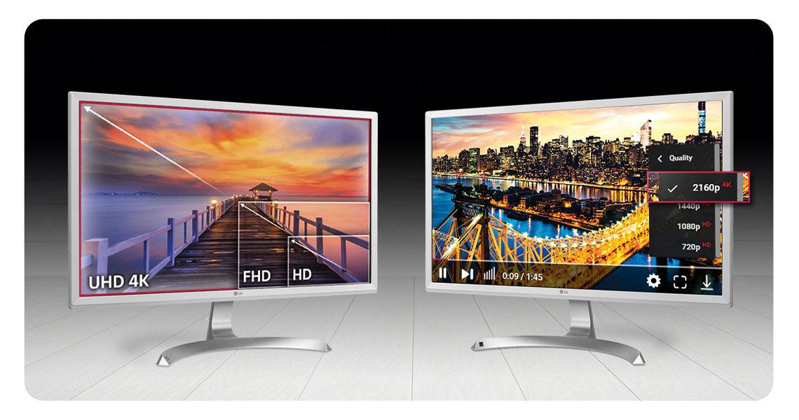 4K-Qualität UHD 4K-Auflösung