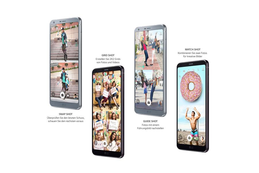 Quadratischer Kamera-Modus